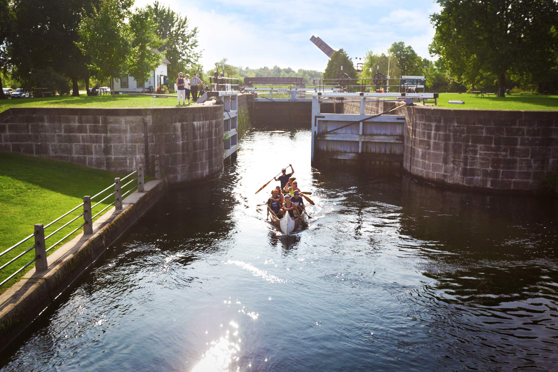 Take a Paddle on the Rideau Canal Image