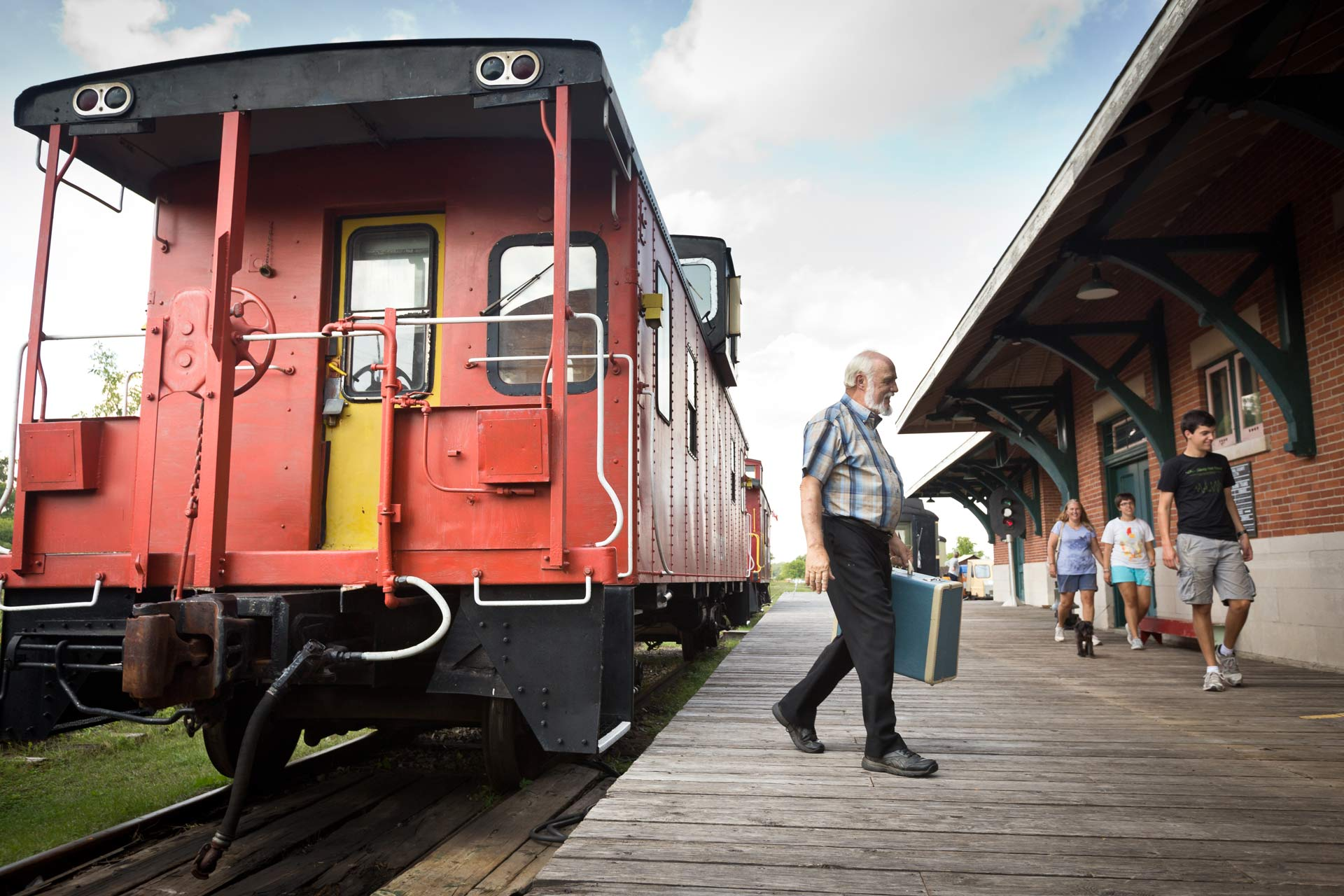 Stay in a Real Caboose at the Railway Museum of Eastern Ontario Image